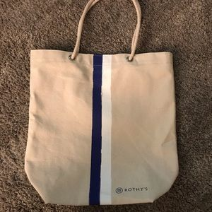 Rothy's Canvas Tote from SF Store